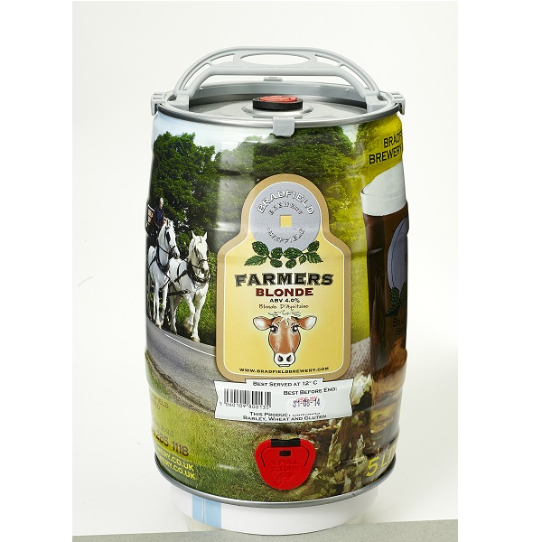 Bradfield Farmers Blonde mini keg slideshow 600
