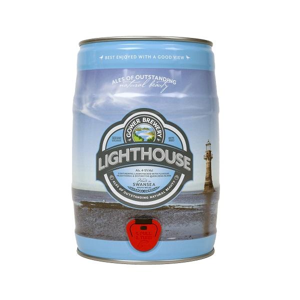 Gower Lighthouse mini keg slideshow 600