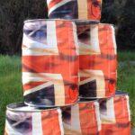 Union flag mini keg tower 945