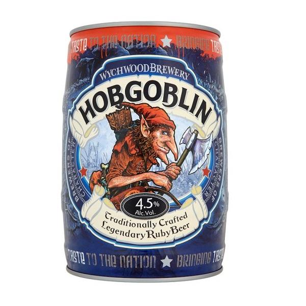 Wychwood Hobgoblin mini keg slideshow 600