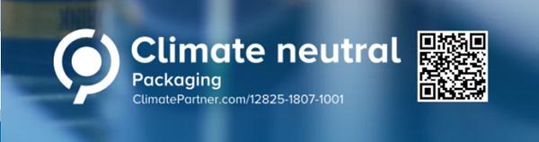 Climate Neutral Packaging QR 600