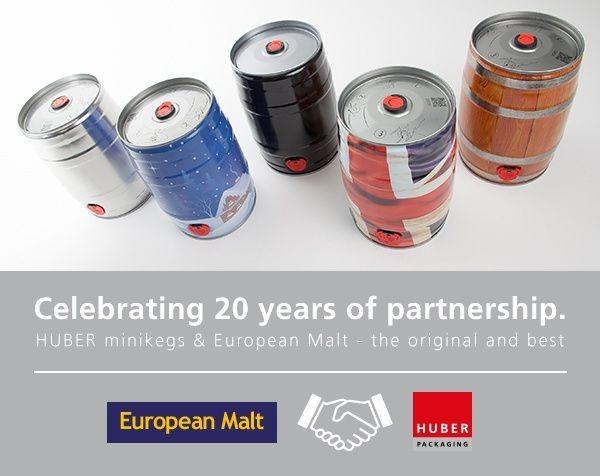 20 years HUBER & European Malt