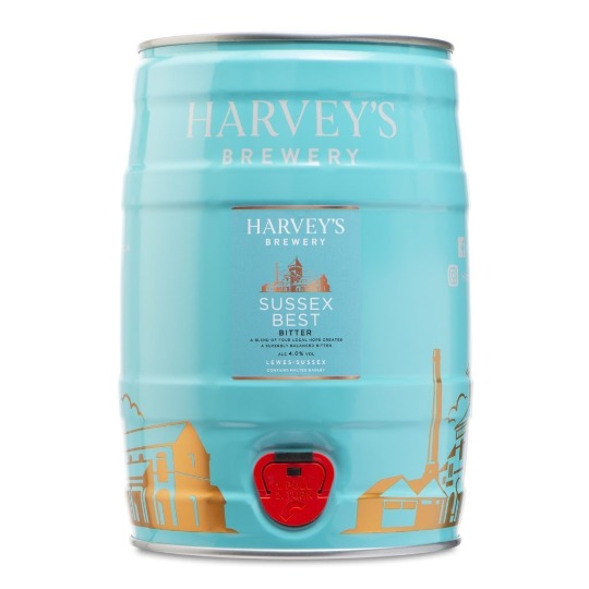 Harveys Sussex Best Bitter mini-keg