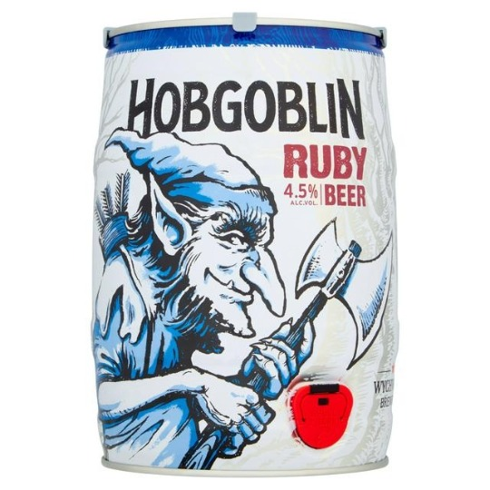 Marstons Hobgoblin Ruby mini-keg