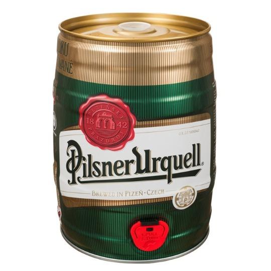 Pilsner Urquell mini-keg