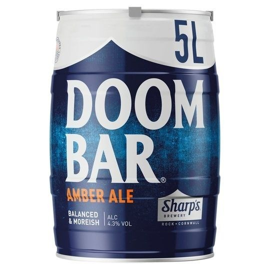 Sharps Doom Bar mini-keg