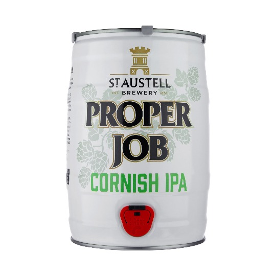 S Austell Brewery Proper Job mini keg