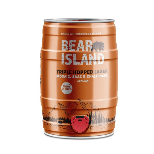 Bear Island mini-keg