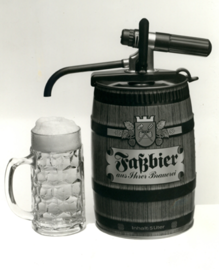 Huber Party Keg original top tap