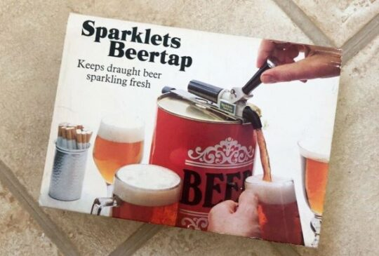 Sparklets beer tap Party Seven 1970s