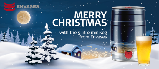Christmas mini keg 945
