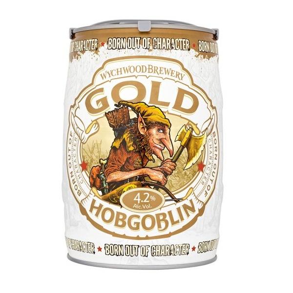 Wychwood Gold Hobgoblin mini keg slideshow 600